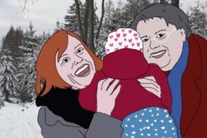 Zwei Mütter, ein Teilerfolg
