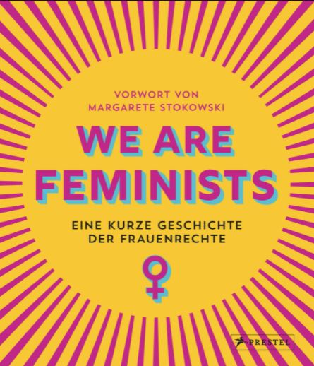 """Cover des Buchs """"We are Feminists"""""""