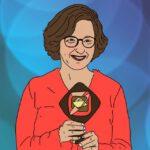 Isabel Schayani mit dem Grimme-Preis